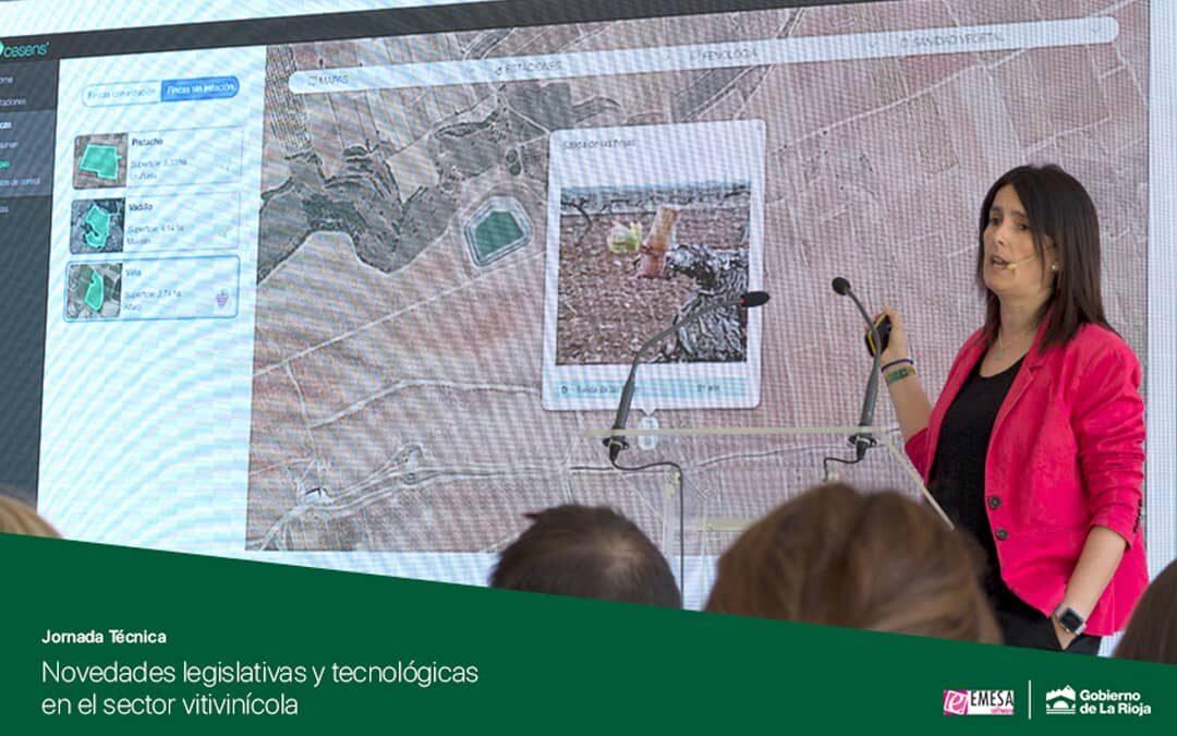 """Cesens® en la Jornada Técnica """"Novedades legislativas y tecnológicas  en el sector vitivinícola"""""""