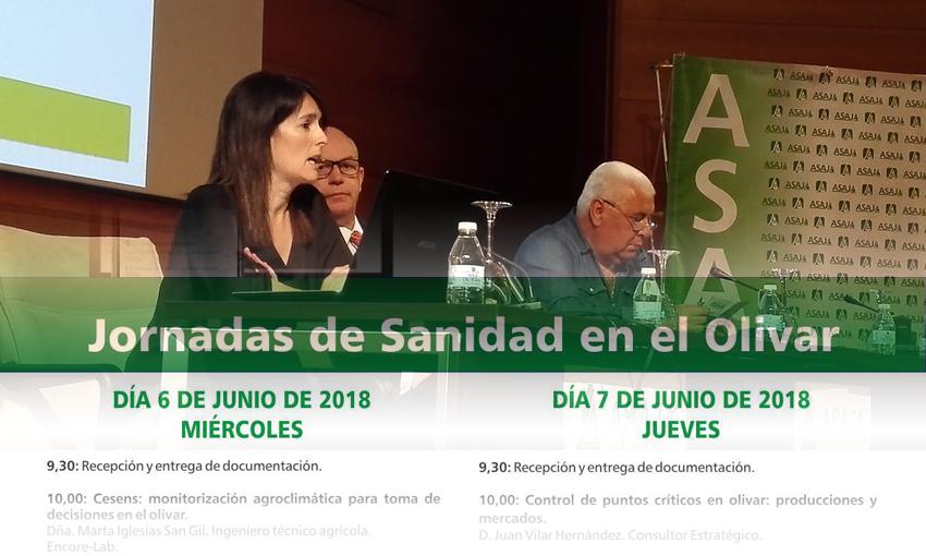 Cesens® en las jornadas de Sanidad en el Olivar en Jaén